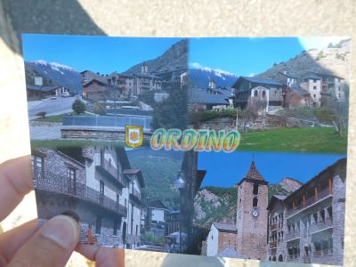 A postcard from Ordino