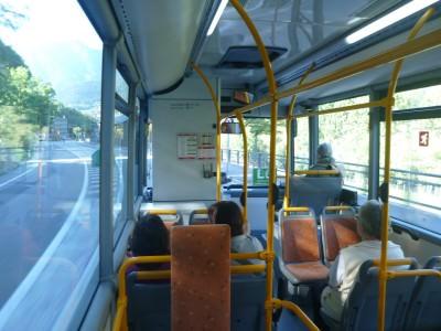 The bus to Ordino, Andorra.