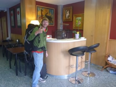 Backpacking in Andorra: Staying at Hotel Residencia Nuria