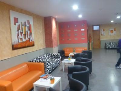 Relaxing hostel