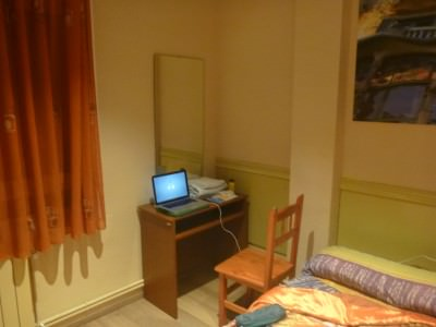 Wifi time at my desk in the room.