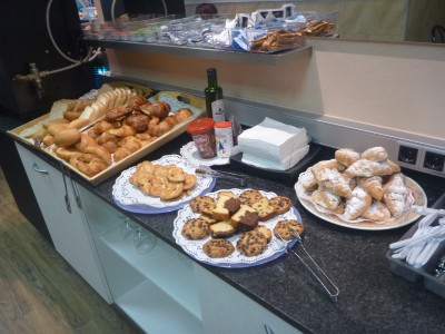 Pastries - Breakfast at Hostal Barcelona.