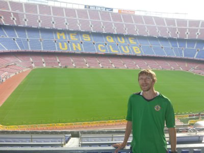 jonny blair nou camp barcelona