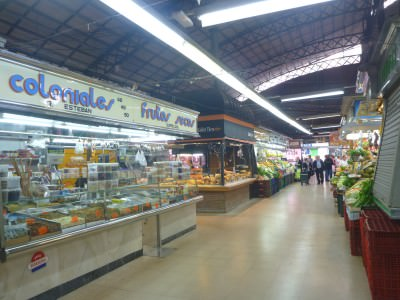 Market in Gracia.