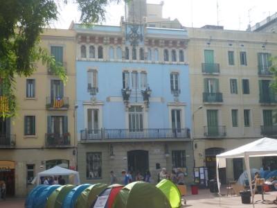 Gracia Town Hall.