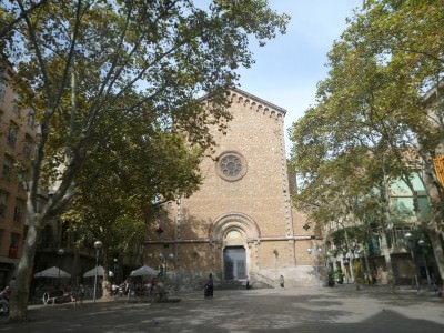 Iglesia San Joan in Gracia.