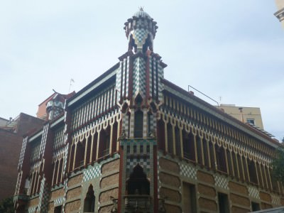 gaudi gracia building