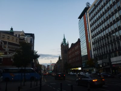 Backpacking in Northern Ireland: Belfast City