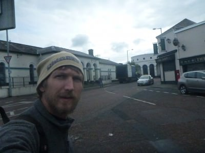 Backpacking in Coleraine, Northern Ireland.