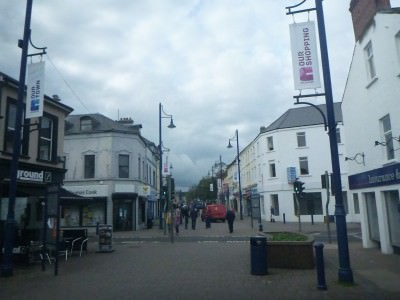 Church Street in Coleraine.