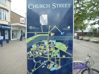 Church Street in Coleraine.