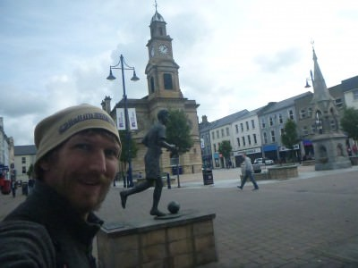 Backpacking in Northern Ireland - touring Coleraine.
