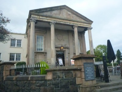 The Old Court House in Coleraine, Northern Ireland.