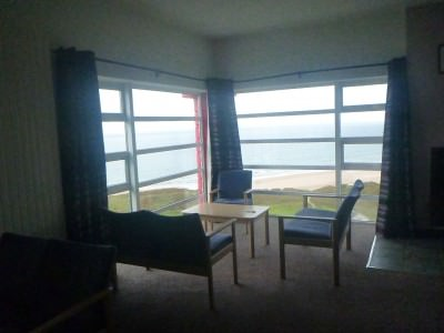 View from the lounge at Whitepark Bay.