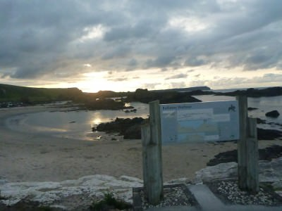 Down by the beach in Ballintoy - wee dander.