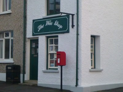 The Wee Shop in Ballintoy.