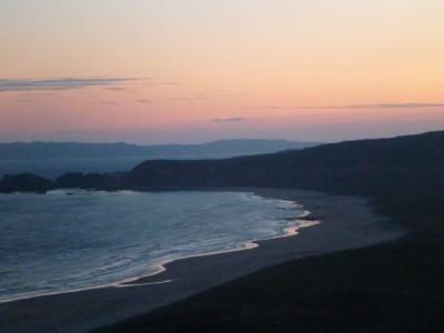 Sunrise on Whitepark Beach