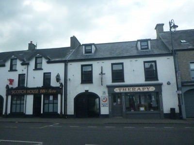 Bushmills Hostel on Main Street in the town.