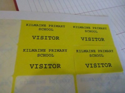 Back as a visitor not a pupil.