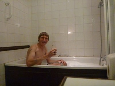 A pint of Guinness in the bath? Why not!