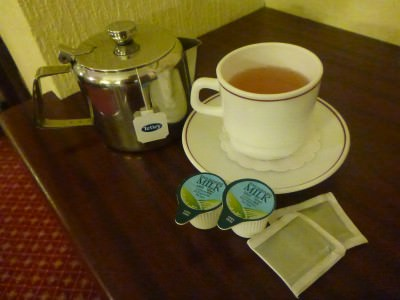 Tea in the last week in the Royal.