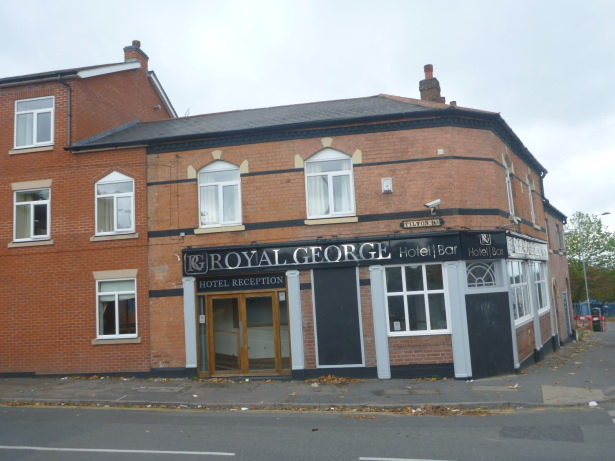 The Royal George Hotel in Birmingham, England.