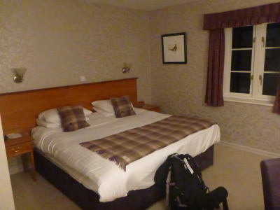 My cosy bed at the Clumber Park