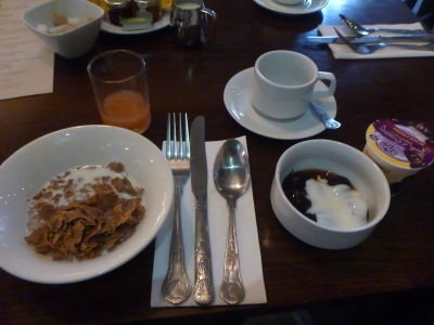 Breakfast at the Clumber Park