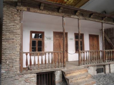A mock of Stalin's House, Gori, Georgia