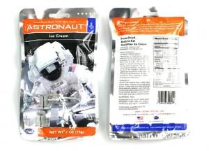 Astronaut Food - Space Ice Cream!