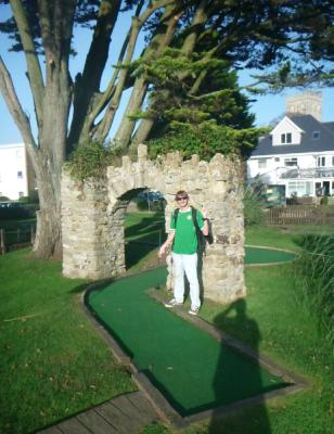mini golf christchurch
