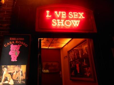 Live Sex Show, Amsterdam.