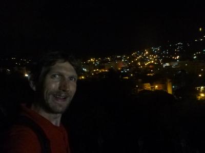 Tegucigalpa by night.