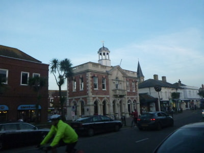 Christchurch Town Hall.