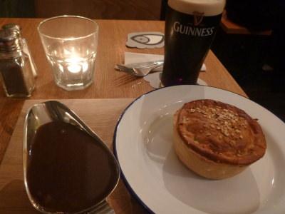 Dinner in Pie Minister
