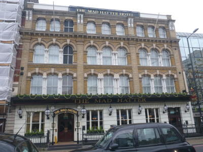 mad hatter hotel england