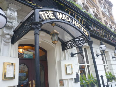 The Mad Hatter Hotel in Southwark, London.