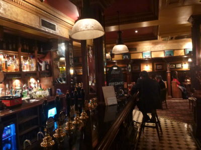 The Pub downstairs