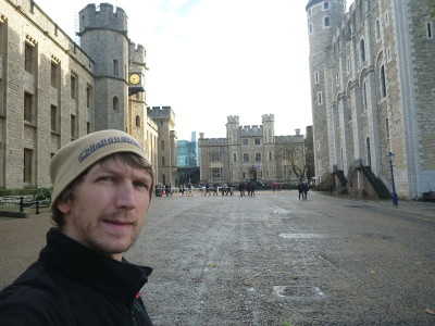 Loving my trip to the Tower of London.