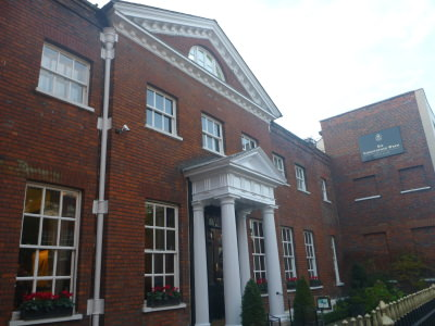 The Sir Christopher Wren Hotel and Spa in Windsor, Berkshire.