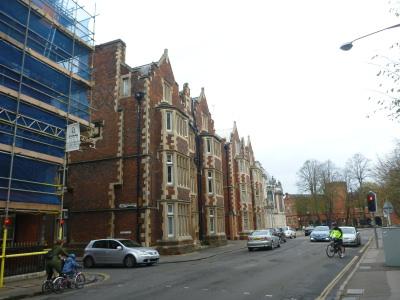 Halls of residence at Eton College.