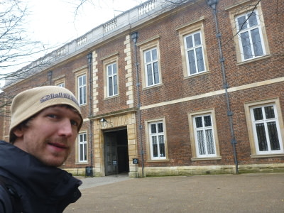 Hanging out at Eton College.