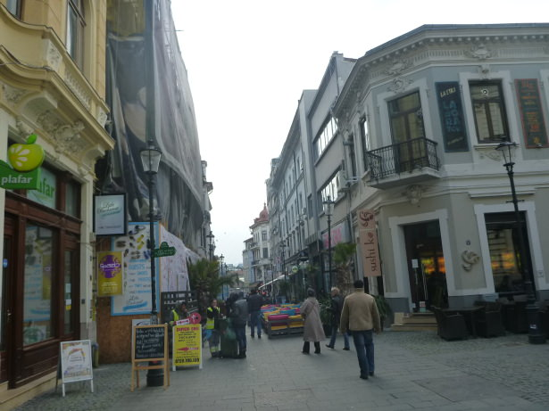 Little Bucharest is in the heart of the Old Town.