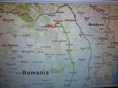 romania backpacking