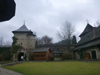Exploring the Moldovita Monastery in Bucovina Romania