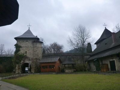 UNESCO listed Moldovita Monastery.