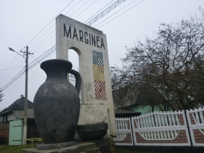 The town of Marginea in Bucovina, Romania: famous for black pottery.