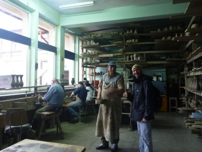 Backpacking in Romania: Touring Marginea Black Ceramics Factory