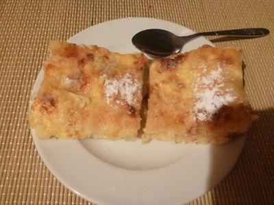 Dessert - pastry.