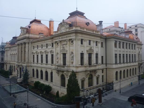 Bucharest Old Town, Romania.